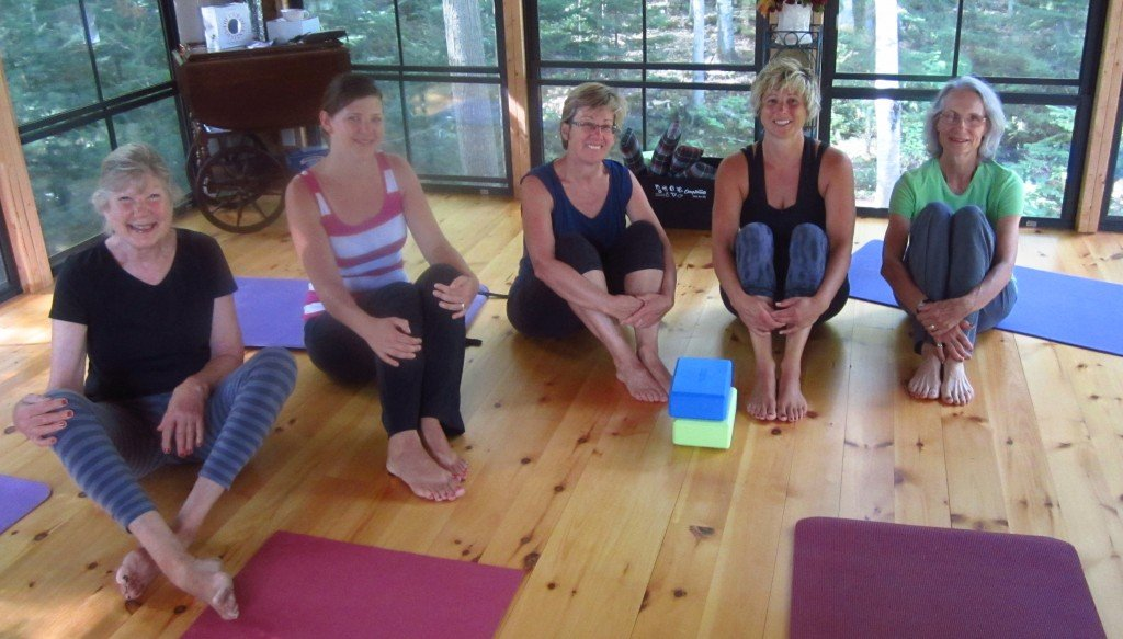 Dianne Admas Yoga Class
