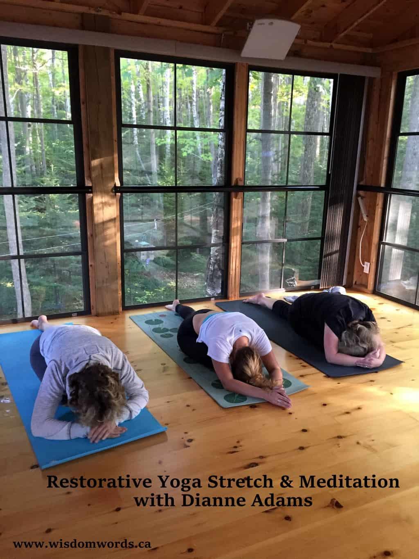Restorative Yoga Stretch & Meditation