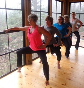Tree house classes with Dianne Adams